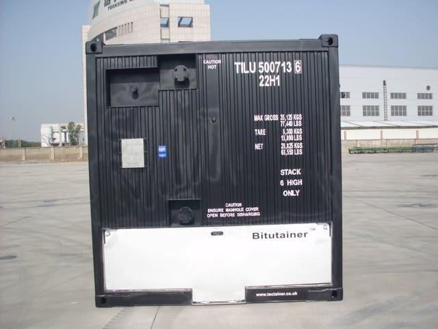 crude container